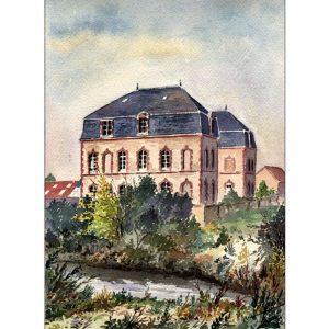 Association Saint-Jean - Nogent-le-Rotrou - Aquarelle de Jean-Pascal Duboil